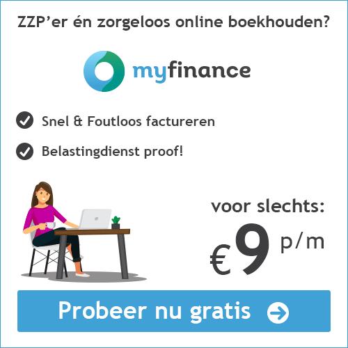 Boekhoudprogramma kopen Myfinance