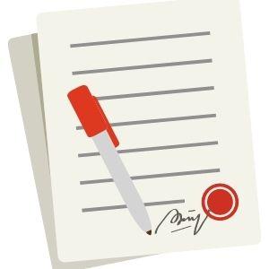 Contract opstellen met boekhouder